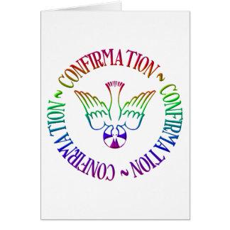 Sacrament of Confirmation - Descent of Holy Spirit Card