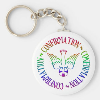 Sacrament of Confirmation - Descent of Holy Spirit Keychain