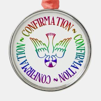 Sacrament of Confirmation - Descent of Holy Spirit Metal Ornament