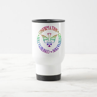 Sacrament of Confirmation - Descent of Holy Spirit Travel Mug