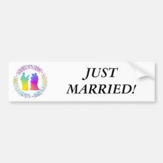 Sacrament of Matrimony Car Bumper Sticker