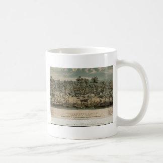 Sacramento 1850 tazas de café