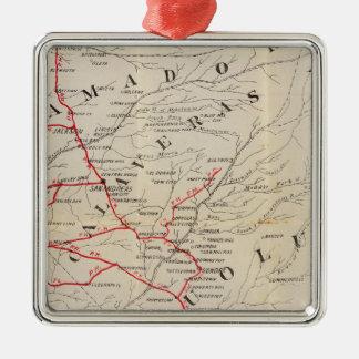 Sacramento, Amador, Calaveras, San Joaquin Christmas Ornament