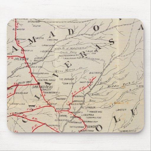 Sacramento, Amador, Calaveras, San Joaquín Alfombrillas De Ratones