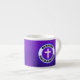 Sacramento bendecido taza espresso