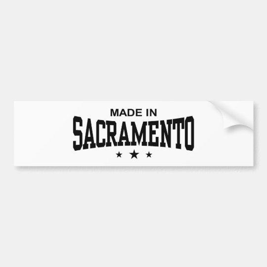 Sacramento Bumper Sticker