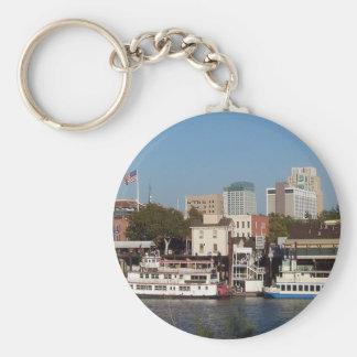 Sacramento, CA Keychain Basic Round Button Keychain