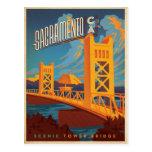 Sacramento, CA Tarjeta Postal
