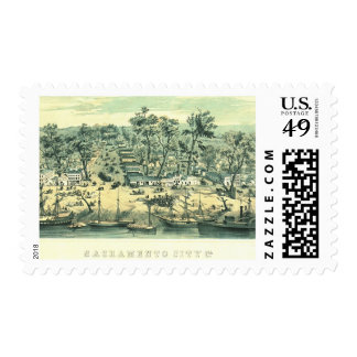 Sacramento California 1849 Postage