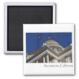 Sacramento California Capitol Building Magnet