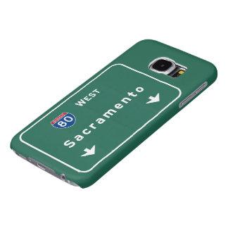 Sacramento California Interstate Highway Freeway : Samsung Galaxy S6 Case