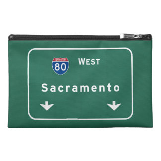 Sacramento California Interstate Highway Freeway : Travel Accessories Bag