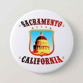 Sacramento California Pinback Button