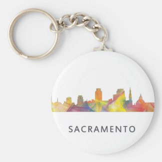 SACRAMENTO, CALIFORNIA SKYLINE WB1 - KEYCHAIN