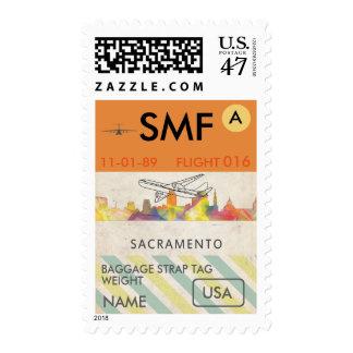 SACRAMENTO, CALIFORNIA SKYLINE WB1 - POSTAGE