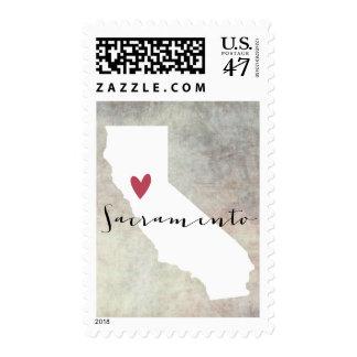 Sacramento, California Stamp