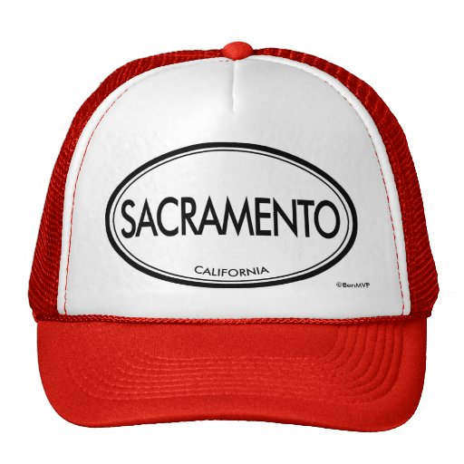 Sacramento, California Trucker Hat