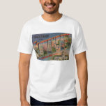 Sacramento, CaliforniaLarge Letter Scenes T-Shirt