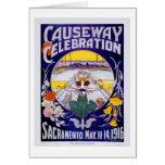 Sacramento Causeway Celebration Greeting Cards