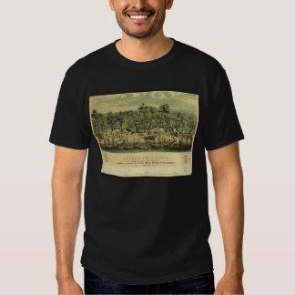 Sacramento City California in 1849 by C Parsons T-Shirt