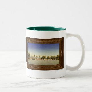 Sacramento City, July 1849 Two-Tone Coffee Mug