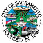 Sacramento city seal photo cutout