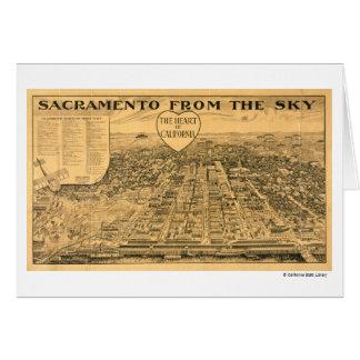 Sacramento del cielo, 1923 tarjeta de felicitación
