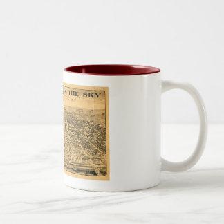 Sacramento del cielo, 1923 taza de café