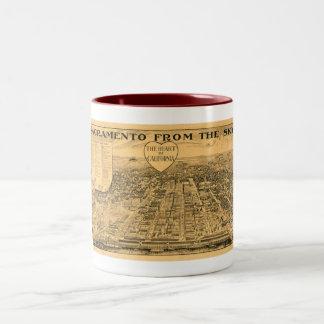 Sacramento from the Sky, 1923 Coffee Mug