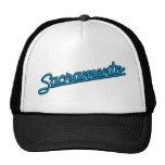 Sacramento in cyan trucker hats