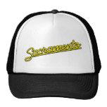 Sacramento in yellow mesh hats
