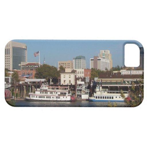 Sacramento, iPhone 5 Shell plástico flexible de CA iPhone 5 Cárcasa