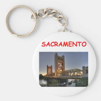 sacramento keychain