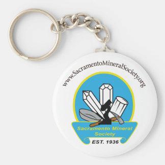 Sacramento Mineral Society Keychain