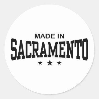 Sacramento Pegatina