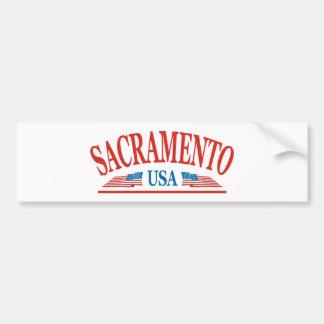 Sacramento Pegatina Para Auto