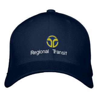 Sacramento Regional Transit Embroidered Hats