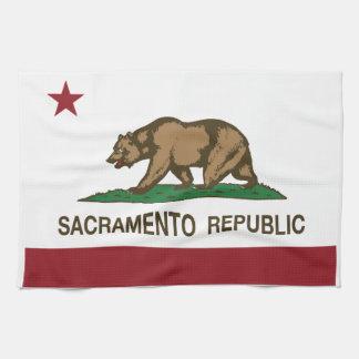 Sacramento Republic Flag Kitchen Towel
