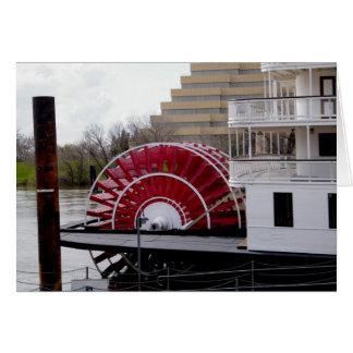 Sacramento River Delta King Greeting Card