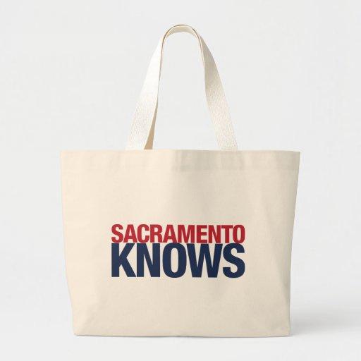 Sacramento sabe bolsa de mano