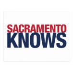 Sacramento sabe tarjetas postales