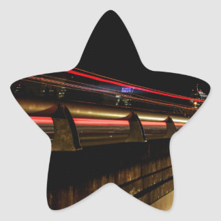 Sacramento Star Sticker