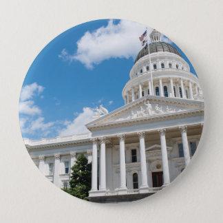 Sacramento State Capitol of California Button