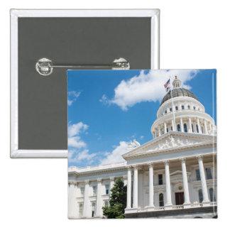 Sacramento State Capitol of California Pinback Button