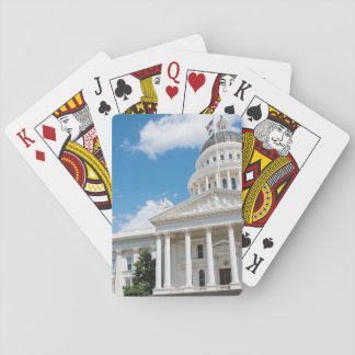 Sacramento State Capitol of California Playing Cards