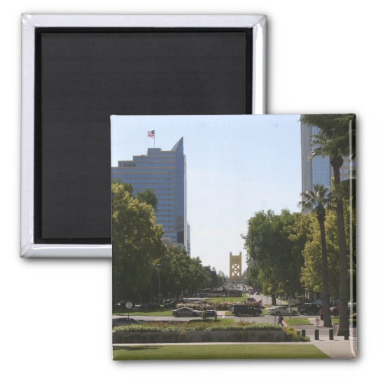 Sacramento: Tower Bridge from Capitol Mall Magnet