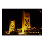 Sacramento Tower Bridge Posters