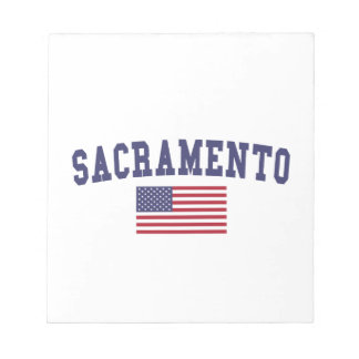 Sacramento US Flag Notepad