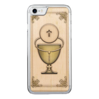 Sacraments Carved iPhone 7 Case