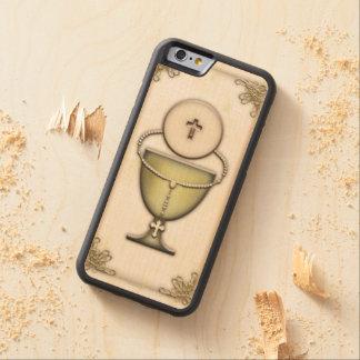 Sacraments Carved Maple iPhone 6 Bumper Case